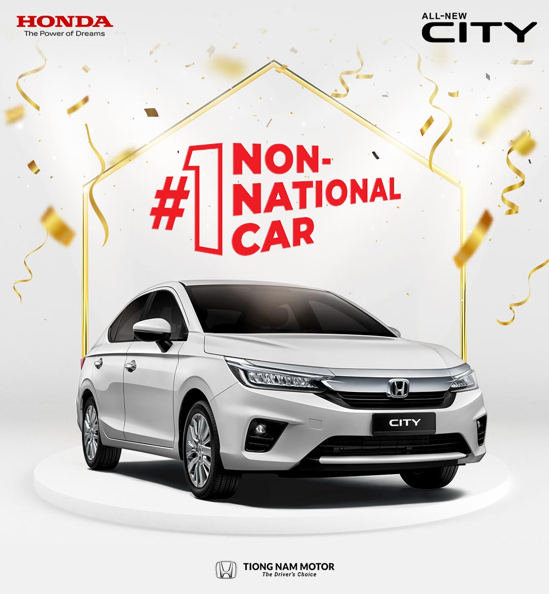 Honda Malaysia Maintains Its Undisputed No.1 Position In Non-National Segment¹ For Six Consecutive Years