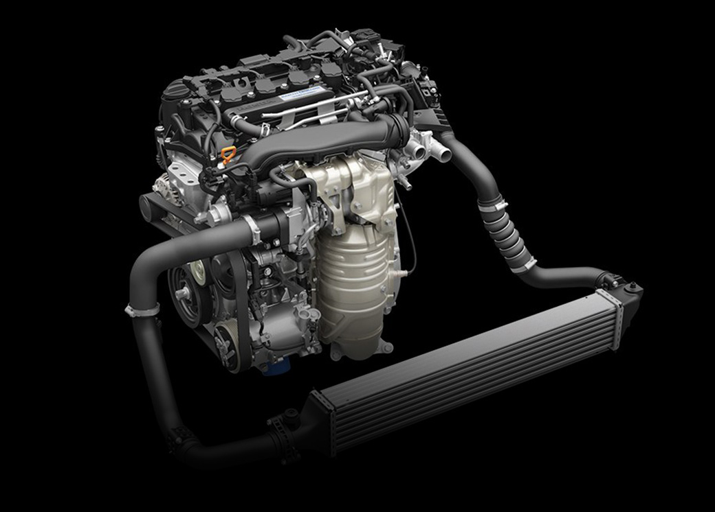 GIVES YOU THE THRILL OF A 2.4L ENGINE